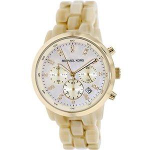 Michael Kors Horn Mother of Pearl Bracelet Watch